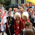 V MFTM Folkowe Inspiracje - Parada inauguracyjna ulicą Piotrkowską - 21.07.2015